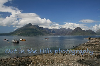 The Cuillin from Elgol, Skye in the Scottish Highlands