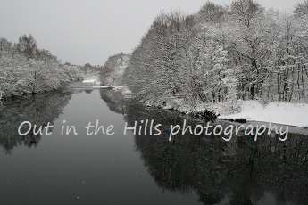 The spey in winter, Aviemore